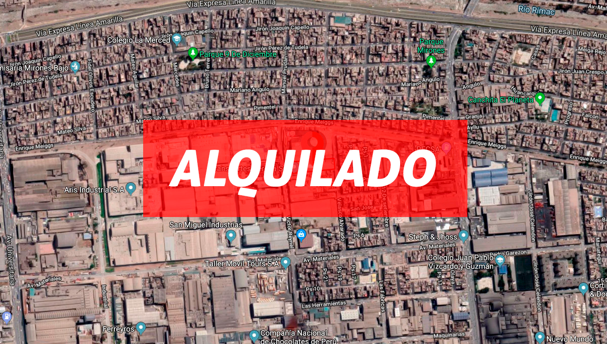 Local Velasco 1,000 m2 – ALQUILADO